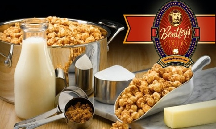 Bentley's Popcorn - Atlanta: $27 for 20 Bags of Scrumptious, Sweet Popcorn from Bentley's Popcorn ($53 Value)