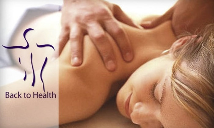 Back to Health - Northwest Columbus: $28 for a One-Hour Massage of Your Choice at Back to Health ($65 Value)