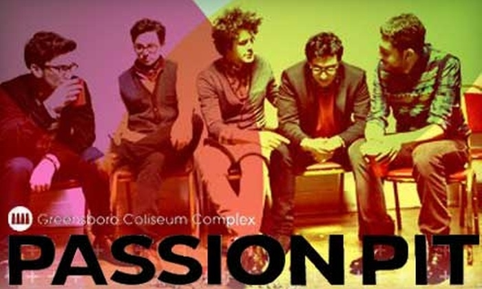 Greensboro Coliseum Complex - Piedmont Triad: $21 for Two General-Admission Tickets to the Campus Consciousness Tour Featuring Passion Pit (Up to $52 Value)