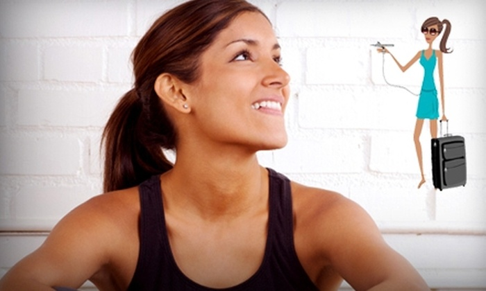 Metro Fitness - Montgomery: $14 for a Full Body Sunspray Airbrush Tan at Metro Fitness ($28 Value)