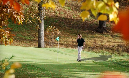 18-Hole Round of Golf, Including Cart Rental, for 2 People (up to a $96 value) - High Vista Country Club in Mills River
