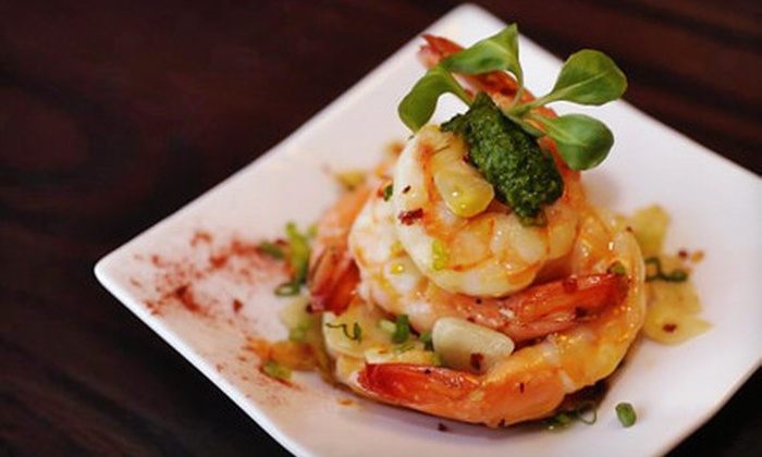Patria Restaurant and Mixology Lounge - Maurer: Latin Fusion Dinner and Drinks for Two, Four, or Six at Patria Restaurant and Mixology Lounge in Rahway (Up to 61% Off)