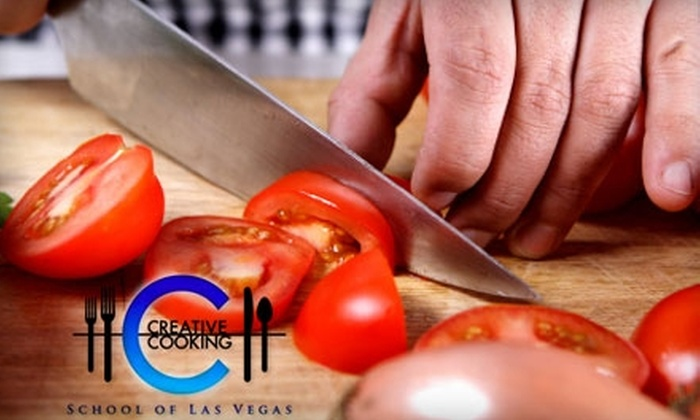 Creative Cooking School - The Lakes/Country Club: $49 for One Cooking Class at Creative Cooking School