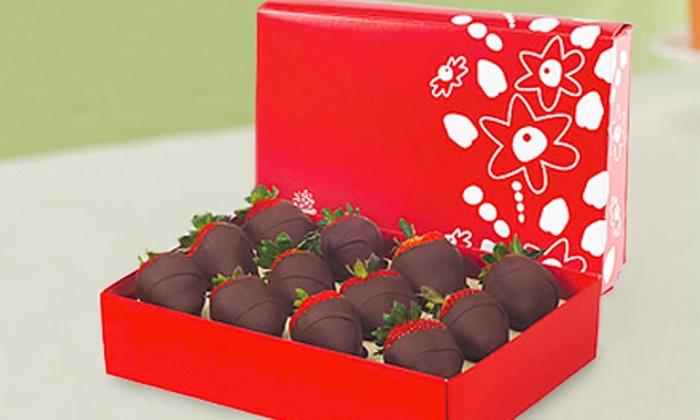 Edible Arrangements - Multiple Locations: Chocolate Indulgence Strawberries Box or Chocolate-Covered Strawberries from Edible Arrangements (Up to 52% Off)