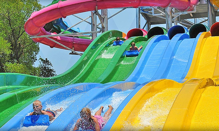 Hawaiian Falls - Multiple Locations: One, Two, or Four Season-Pass Packages with Buddy Passes, Coupons, & Souvenir Cups at Hawaiian Falls (78% Off)