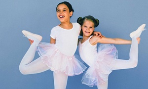 Triple Motion Dance: One or Three Months of Kids' Dance Classes with Registration Fee at Triple Motion Dance (Up to 58% Off)