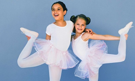 One or Three Months of Kids' Dance Classes with Registration Fee at Triple Motion Dance (Up to 58% Off)
