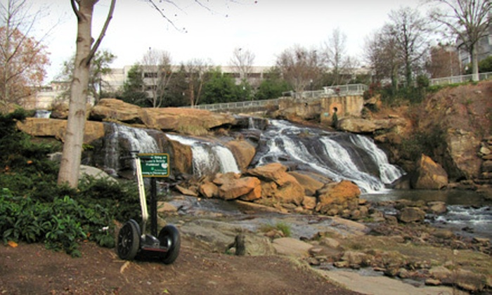 Greenville Glides - Downtown: $60 for Greenville Segway Tour for Two at Greenville Glides ($120 Value)