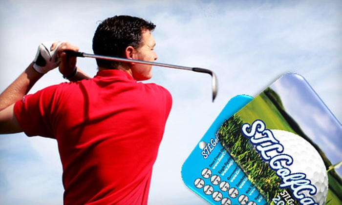 STL Golf Card: $22 for a Golf Savings Card from STLGolfCard.com ($79 Value)