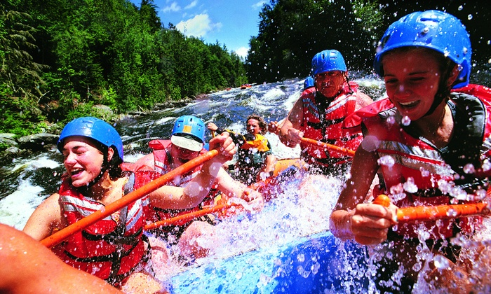 High Country Adventures - Apison: Whitewater Rafting on Middle Ocoee River from High Country Adventures (Up to 63% Off). Four Options Available.