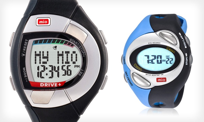 Mio Heart Rate Monitor Watches: Mio Heart Monitor Watches (Up to 65% Off). Six Options Available. Free Shipping and Free Returns.