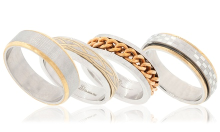 Two-Tone Men's Ring
