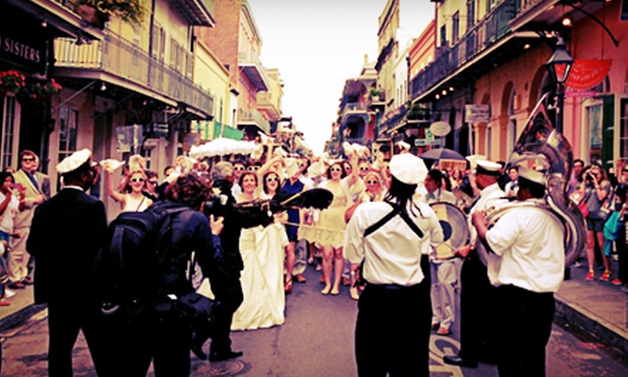 Capital City Trolleys - French Quarter: Historical Walking Tour for Two or Four from Capital City Trolleys (Up to 56% Off)