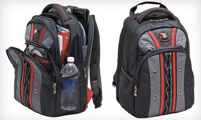 SwissGear Valve Backpack: $39 for a SwissGear Valve Backpack for Tablets and Laptops ($89.99 List Price)