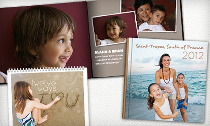 Picaboo: Classic Photo Books, Calendars, and Cards from Picaboo (Up to 65% Off). Two Options Available.