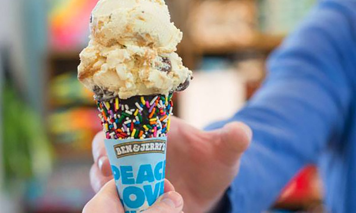 Ben & Jerry's - Bach: One or Three Groupons, Each Good for $10 Worth of Ice Cream and Frozen Treats at Ben & Jerry's (40% Off)
