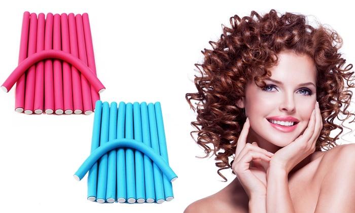 Hair Roller : ... Hair Curlers (Set of 10): FlexRod Spiral Magic Foam Hair Curlers (Set
