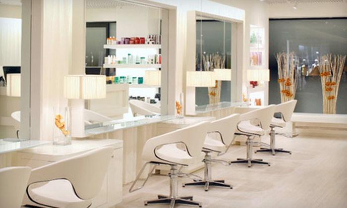 Warren-Tricomi Salon - Greenwich: Salon Services at Warren-Tricomi Salon in Greenwich (Up to 70% Off). Three Options Available.