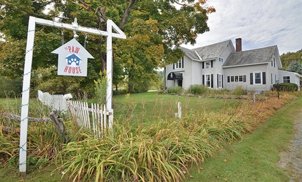 2-Night Stay for Two People and Two Dogs with a Welcome Basket at The Paw House Inn in Rutland, VT