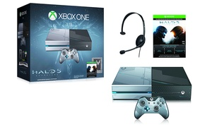 Xbox One 1tb Limited Edition Console With Halo 5: Guardians (preorder)