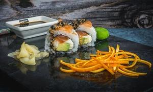 Sushi Art Cordoba: Desde $245 por 30 o 60 piezas de sushi 100% salmón en Sushi Art Córdoba