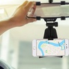 Aduro Grip-Clip Universal Rearview Mirror Phone Mount