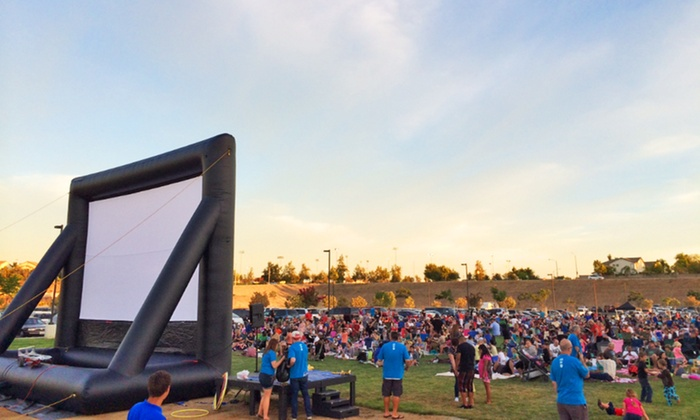 FunFlicks Outdoor Movies LA - Los Angeles: Outdoor-Movie Party from FunFlicks Outdoor Movies LA (Up to 56% Off). Two Options Available.