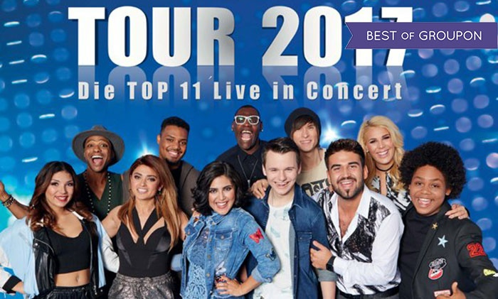 Ticket Für Die Dsds Tour 2017 Brown Media Concerts Groupon