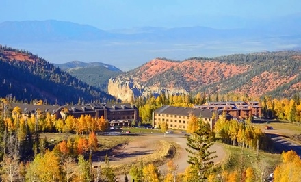 Stay at Cedar Breaks Lodge and Spa in Brian Head, UT. Dates into November.