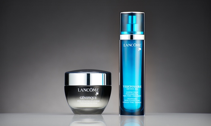 Lancôme Anti-Aging Skincare: Lancôme Visionnaire Advanced Skin Corrector or Génifique Youth Activating Concentrate (Up to 41% Off). Free Shipping.