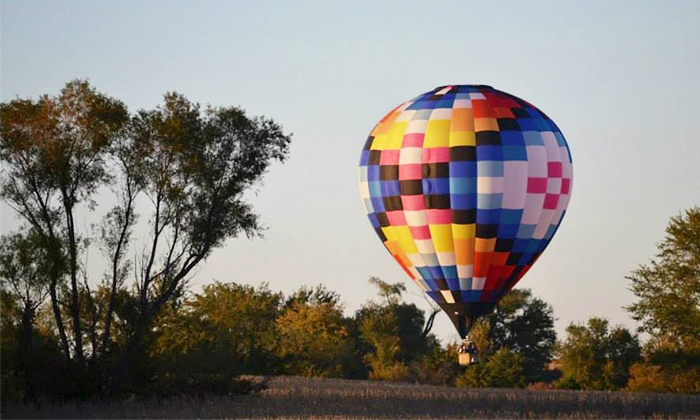 Ventures Aloft - Norwalk: Group Hot-Air-Balloon Ride for Two, Four, or Six from Ventures Aloft (40% Off). Six Options Available.