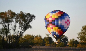 Ventures Aloft: Group Hot-Air-Balloon Ride for Two, Four, or Six from Ventures Aloft (40% Off). Six Options Available.