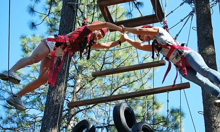 Adventure Dynamics - Nine Mile Falls: $99 for a Four-Hour Couples Adventure Date Night with Dinner at Adventure Dynamics ($199 Value)