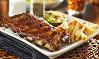 Two-Course Meal for Two or Four at Boozy Bones (Up to 51% Off)