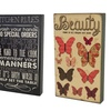 "Sentiment 8""x13"" Decorative Wood Signs"