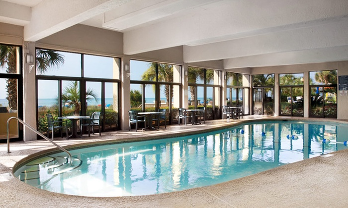 null - Raleigh / Durham: Stay at Compass Cove Oceanfront Resort in Myrtle Beach, SC. Dates Available into February.