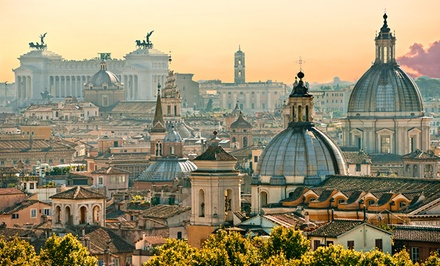 7-Day Paris and Rome Vacation with Airfare & Hotel from go-today. Price/Person Based on Double Occupancy.