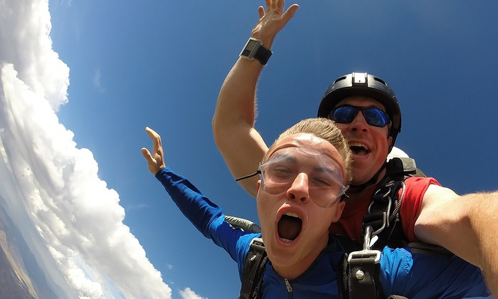 Skydive the Wasatch - Nephi: Tandem Skydive Jump for One or Two at Skydive the Wasatch (Up to 26% Off)