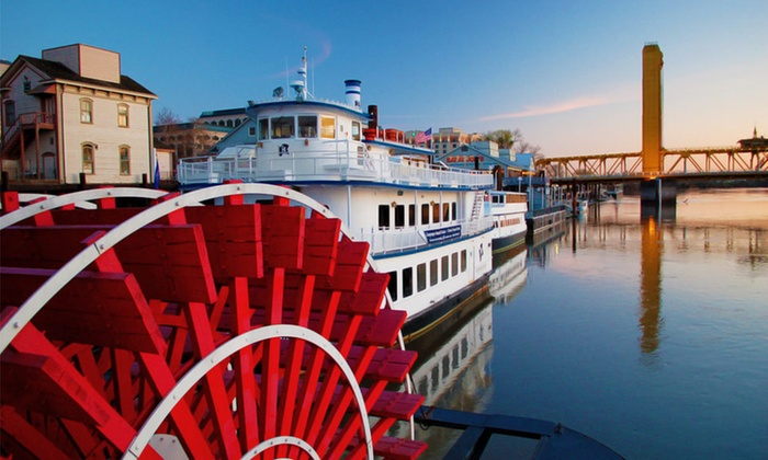 Delta King Hotel - Central Sacramento: $129 for a One-Night Stay Sunday–Thursday with Bike Rentals, Breakfast, and Wine at Delta King Hotel in Sacramento (Up to $232 Value)