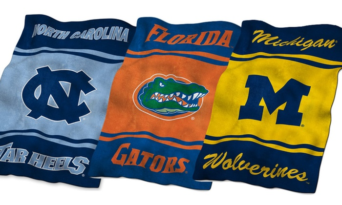 """NCAA UltraSoft 84""""x54"""" Blankets: NCAA UltraSoft 84""""x54"""" Blanket. Multiple Teams Available. Free Shipping and Returns."""