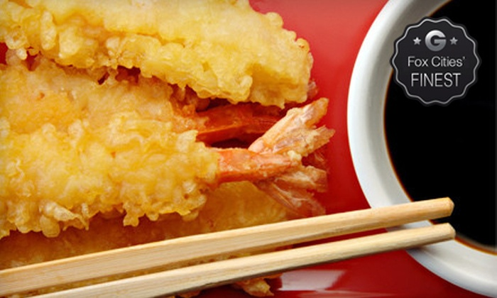 Timsan's Japanese Steak House - East Green Bay: Full Hibachi Dinners for Two, Four, or Up to Eight at Timsan's Japanese Steak House (Up to 61% Off)