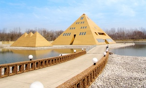 The Gold Pyramid: $18 for a Tour for Two at The Gold Pyramid ($30 Value). 26 Dates and Times Available.