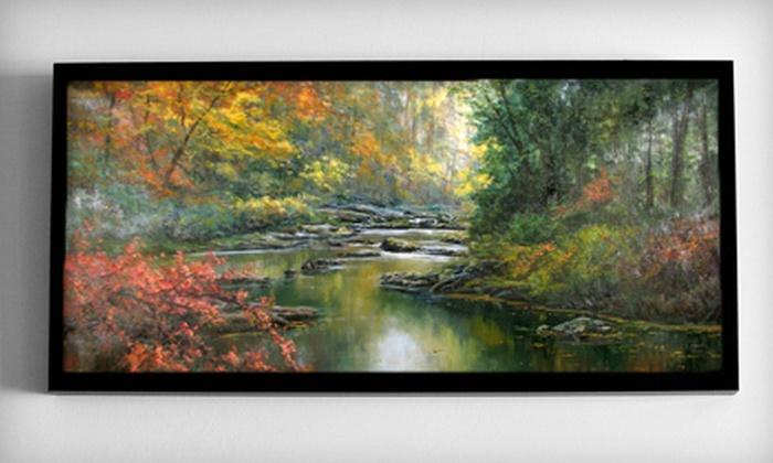 Rossier's Art Gallery - Pine: $45 for $100 Worth of Gallery Artwork or Custom Framing at Rossier's Art Gallery