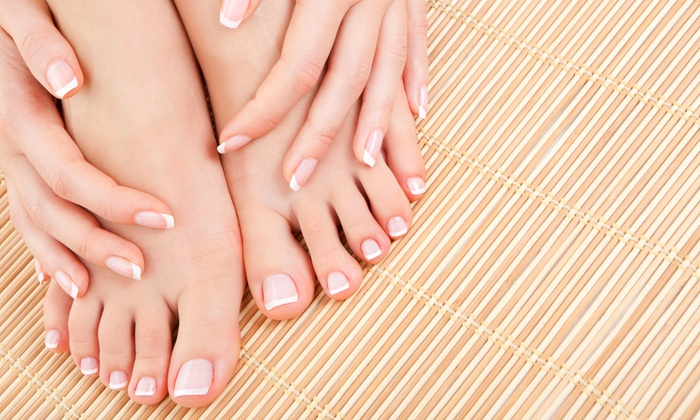 Magic Hands - Magic Hands: Mani-Pedi or Acrylic Manicure at Magic Hands (Up to 28% Off)