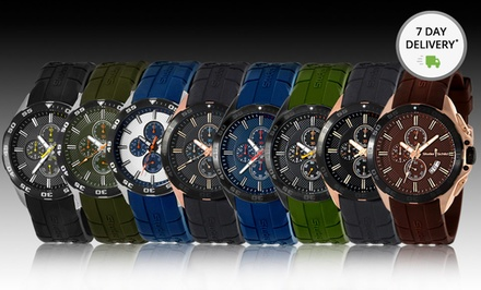 Studer Schild Men's Eli or Tull Chronograph Watches. Multiple Colors Available. Free Returns.