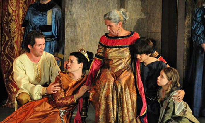 """Ohio Shakespeare Festival - Ohio Shakespeare Festival (at Stan Hywet Hall & Gardens): $25 for Ohio Shakespeare Festival's """"The Merchant of Venice"""" for Two (Up to $50 Value). Five Shows Available."""