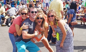 Capital BrewFest: General or VIP Admission with Unlimited Samples at Capital BrewFest (Up to 46% Off). Six Options Available.