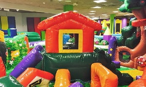 Bounce Party Place: Kids' Indoor Bounce House at Bounce Party Place (Up to 54% Off). Two Options Available.