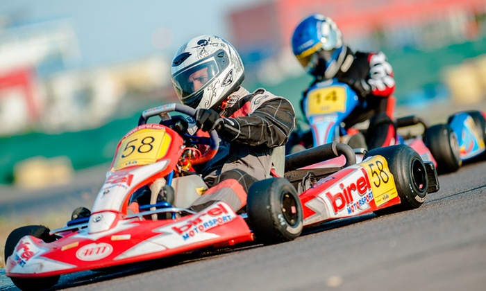 Brooklands Go Karts - Worthing: Brooklands Go Karts: Track Session (from £9) or Driving Tuition (from £35)