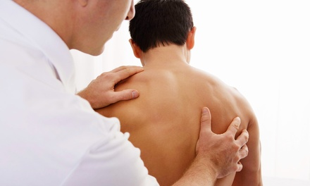 $30 for Chiropractic Package with Exam, Adjustment, and Massage at Health Solutions ($255 Value)